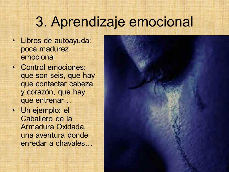 3. Aprendizaje emocional