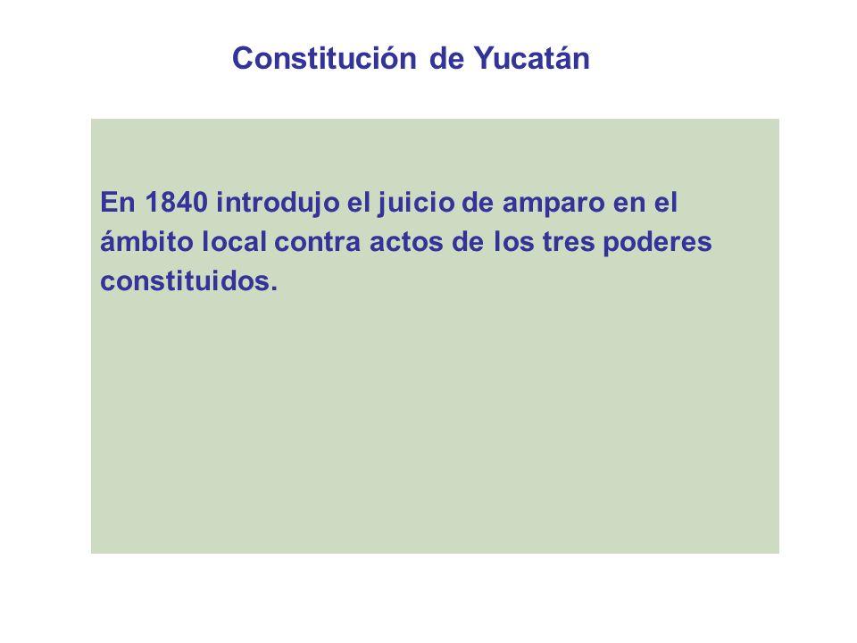 Constitución de Yucatán
