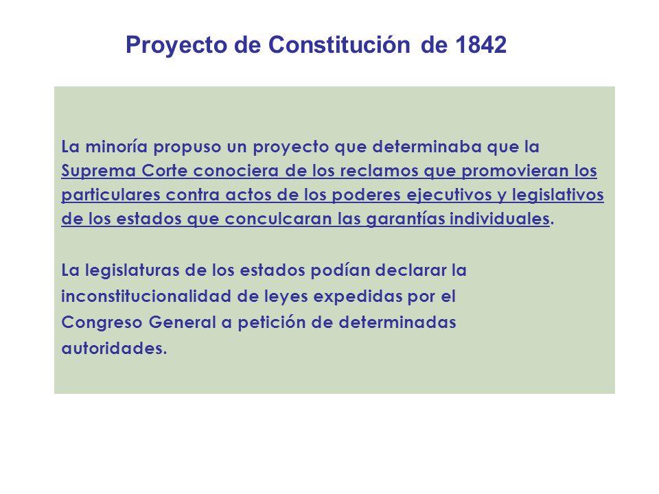 Proyecto de Constitución de 1842