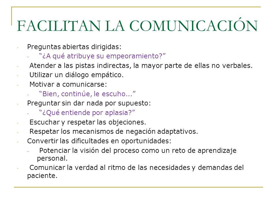FACILITAN LA COMUNICACIÓN
