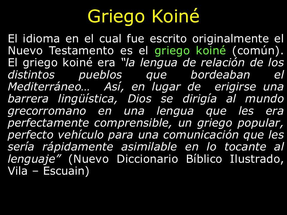 Griego Koiné