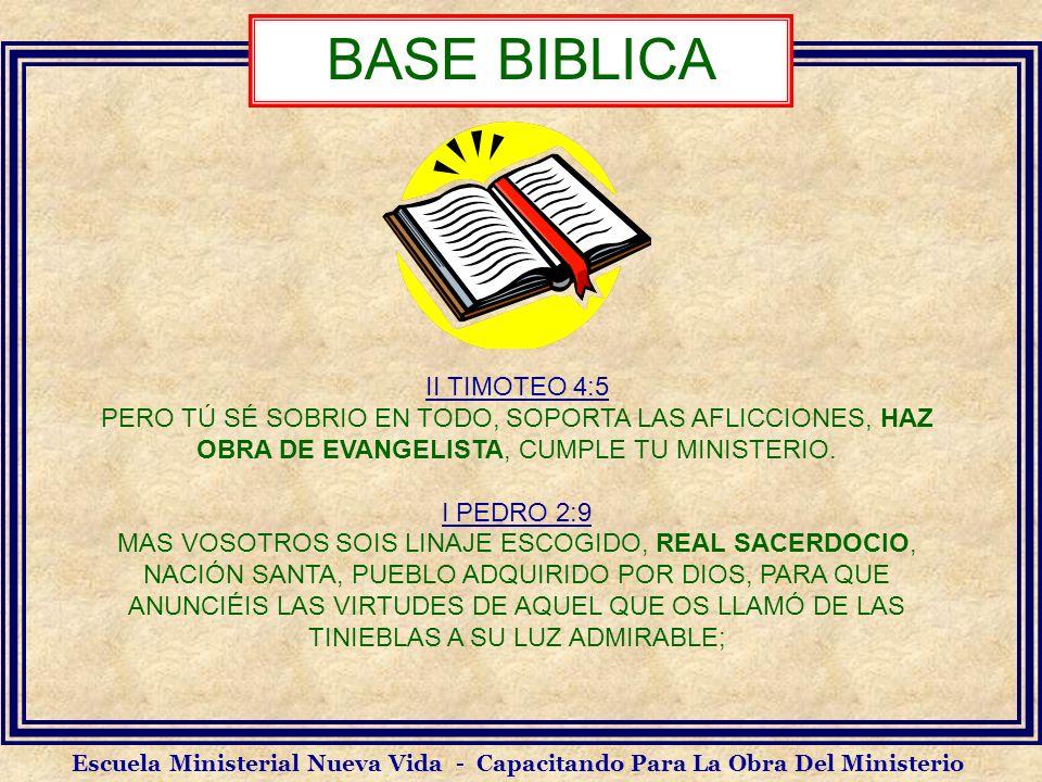 BASE BIBLICA II TIMOTEO 4:5