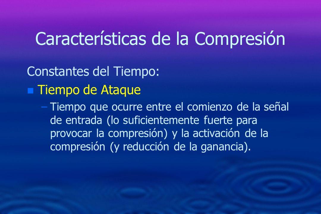 Características de la Compresión