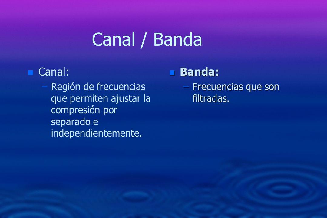Canal / Banda Canal: Banda:
