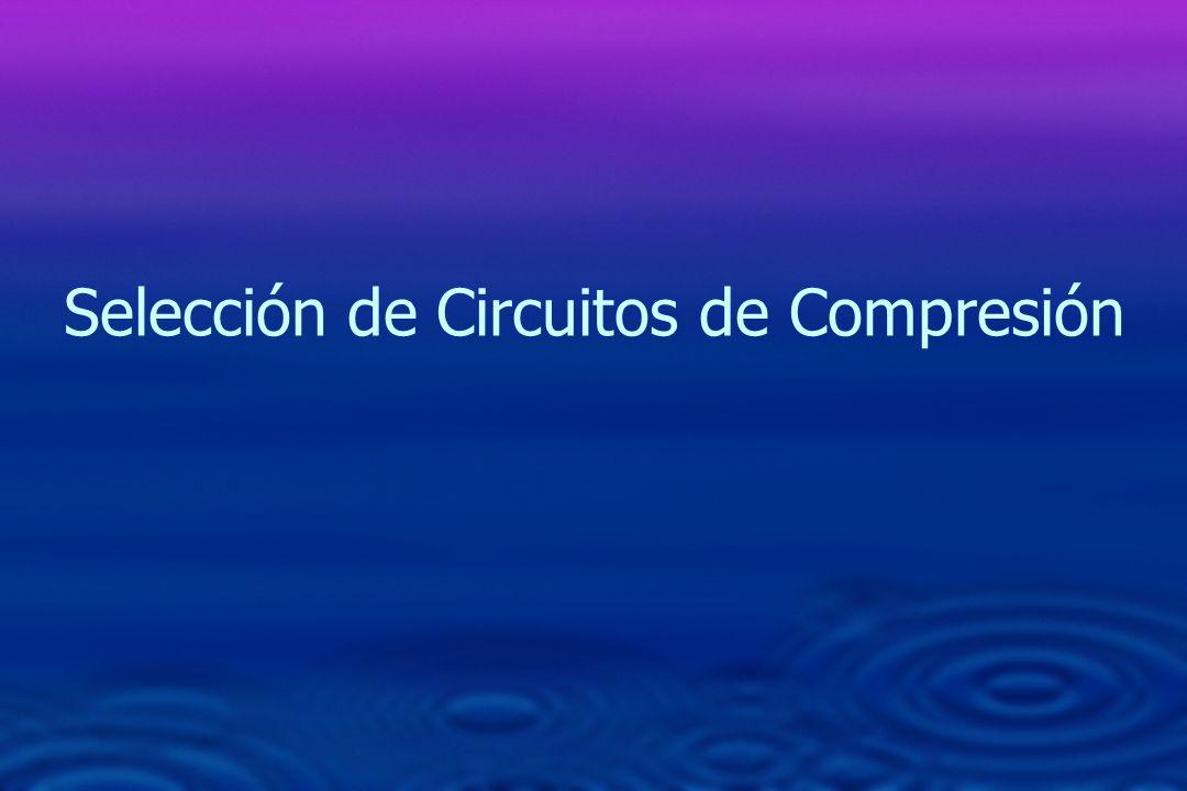 Selección de Circuitos de Compresión