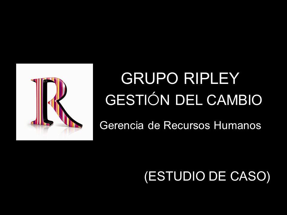 GRUPO RIPLEY GESTIÓN DEL CAMBIO (ESTUDIO DE CASO)