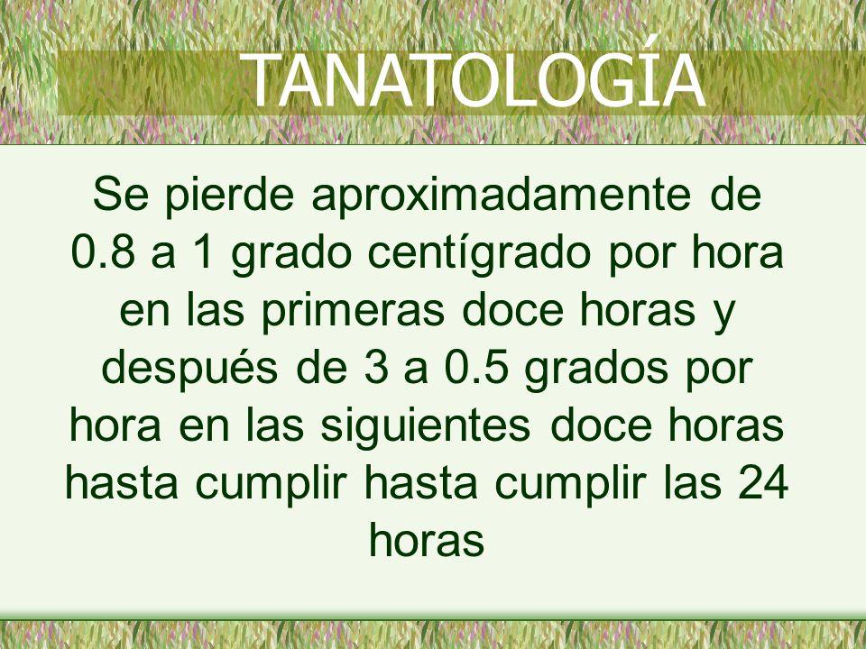 TANATOLOGÍA