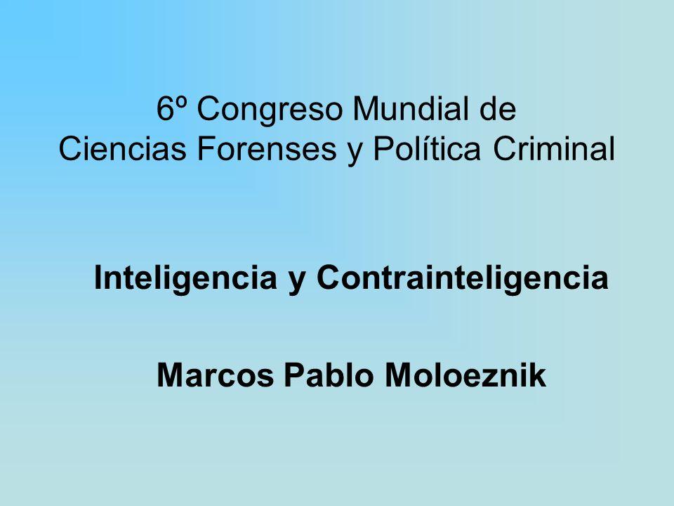 6º Congreso Mundial de Ciencias Forenses y Política Criminal