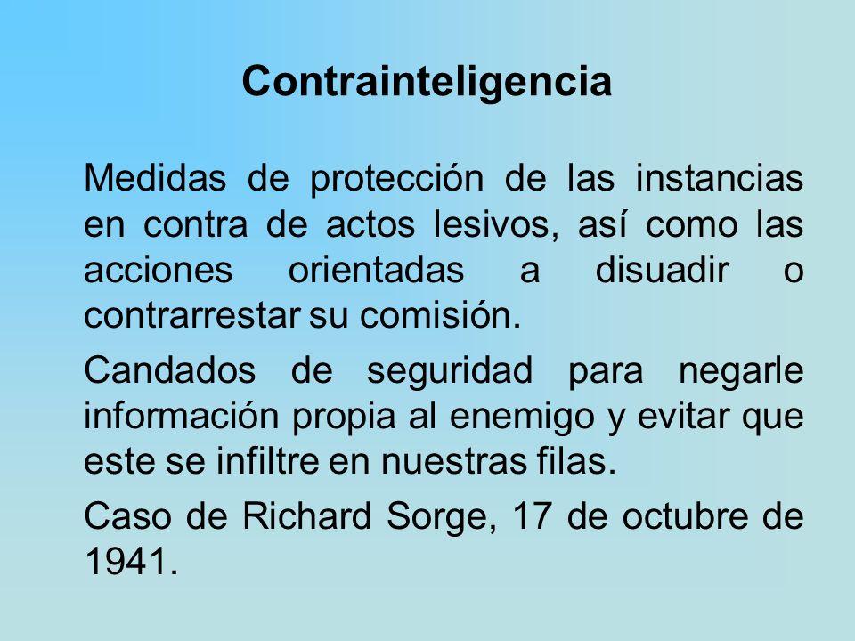 Contrainteligencia