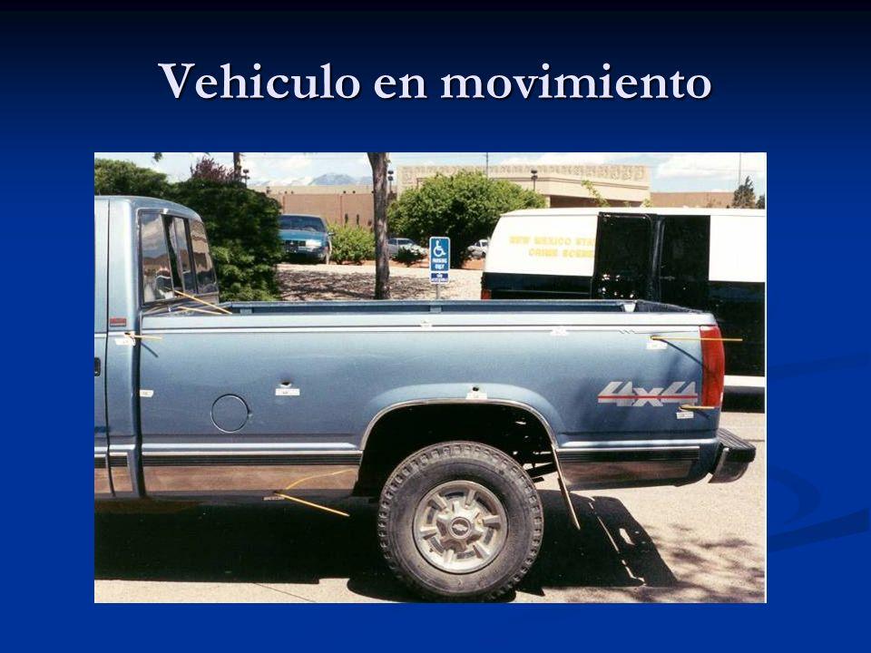 Vehiculo en movimiento