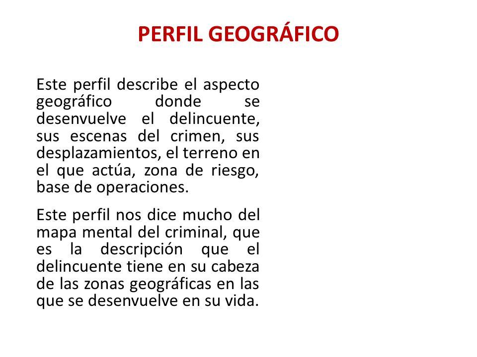PERFIL GEOGRÁFICO