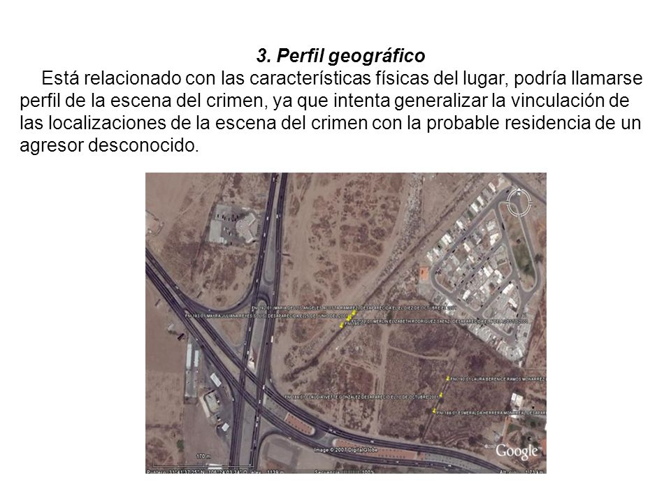3. Perfil geográfico