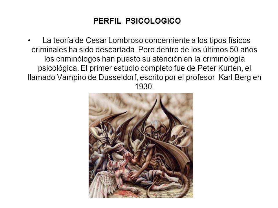 PERFIL PSICOLOGICO