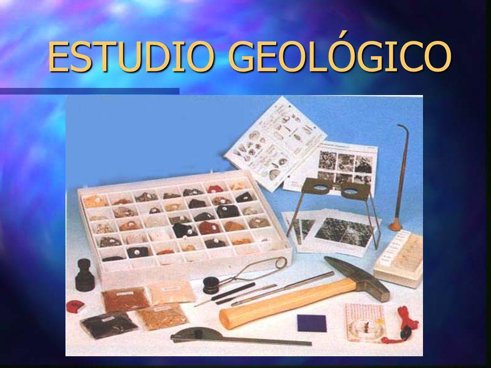 ESTUDIO GEOLÓGICO