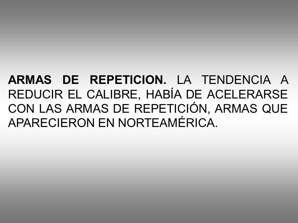 ARMAS DE REPETICION.