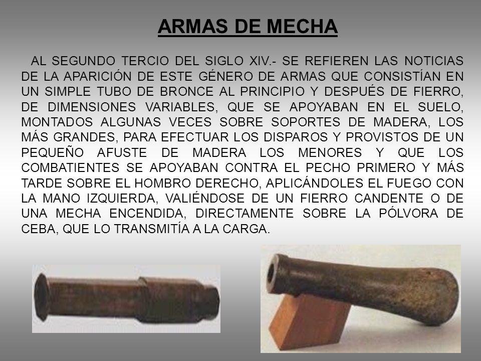 ARMAS DE MECHA