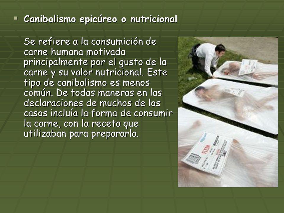 Canibalismo epicúreo o nutricional