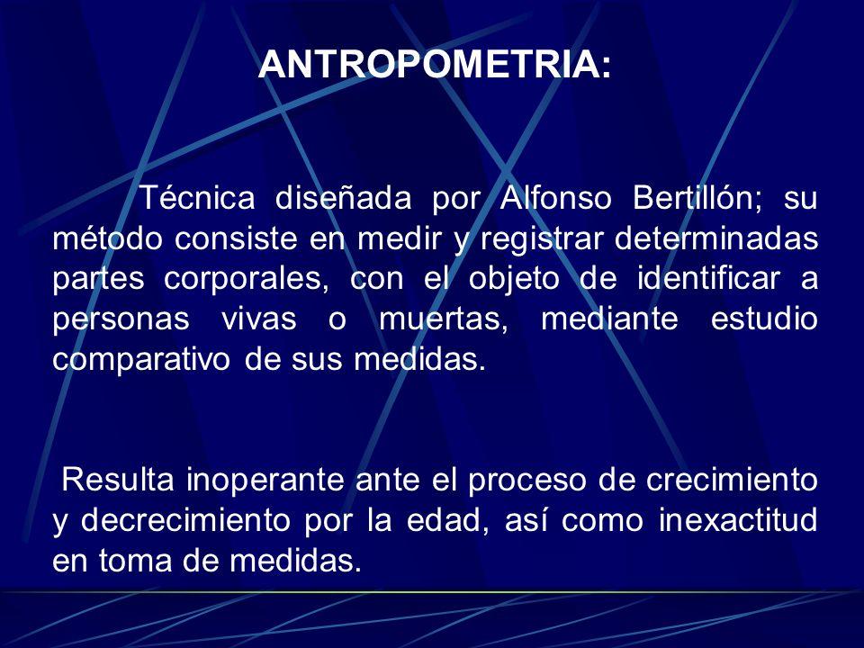 ANTROPOMETRIA: