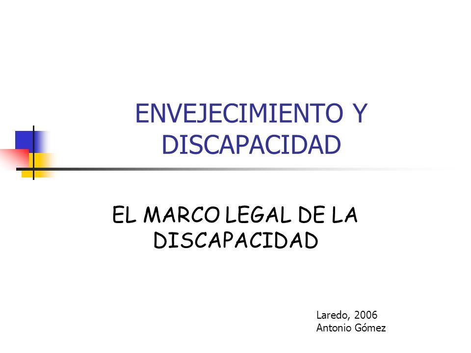 ENVEJECIMIENTO Y DISCAPACIDAD