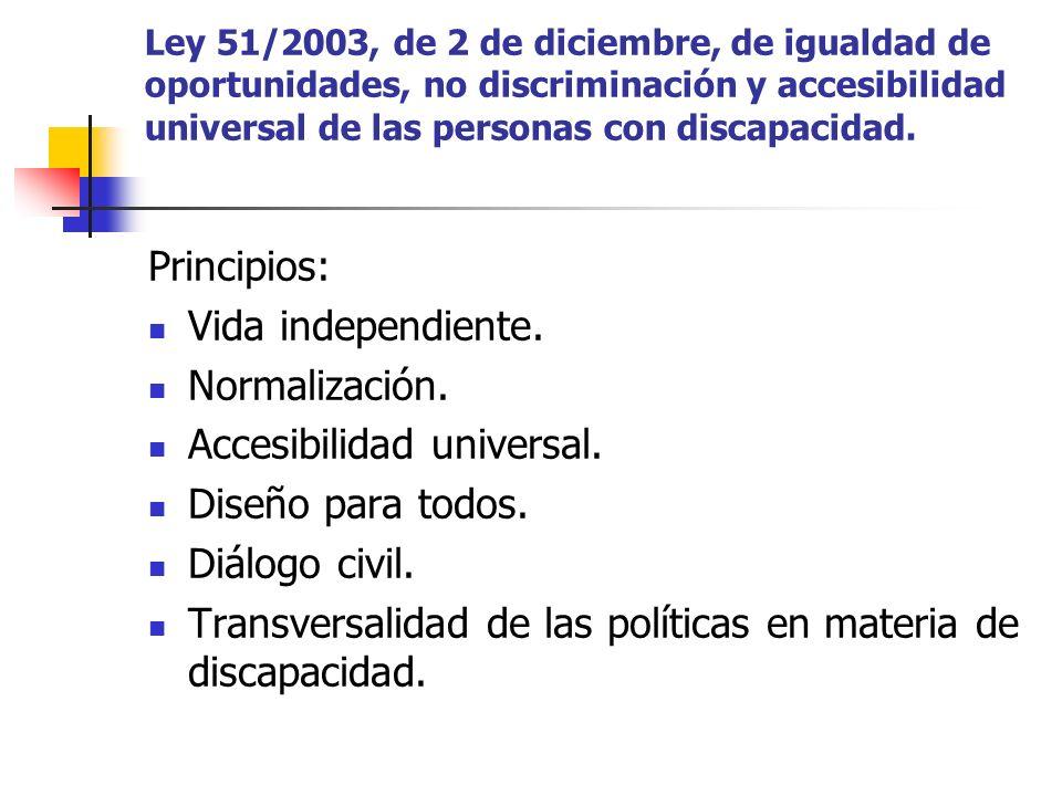 Accesibilidad universal. Diseño para todos. Diálogo civil.