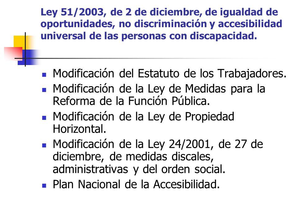 Modificación del Estatuto de los Trabajadores.
