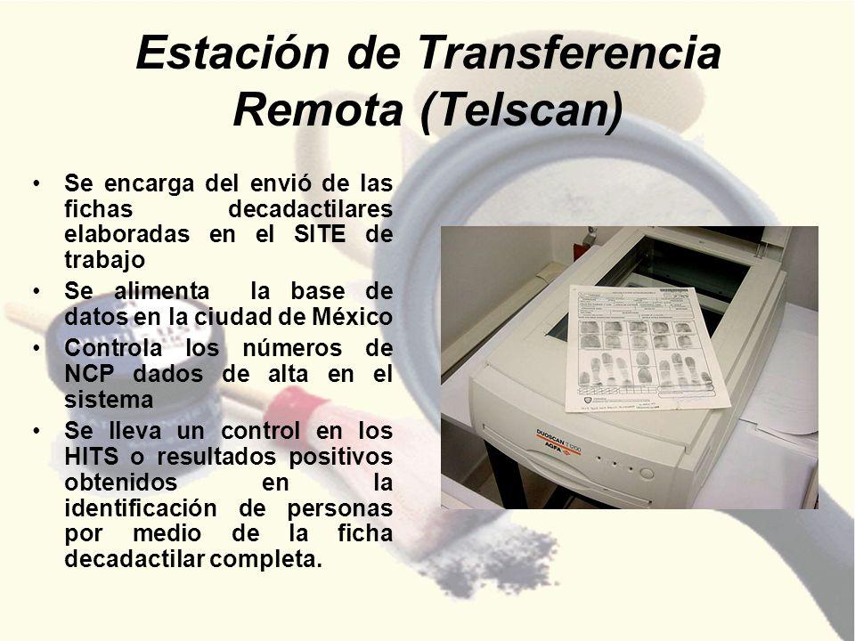 Estación de Transferencia Remota (Telscan)