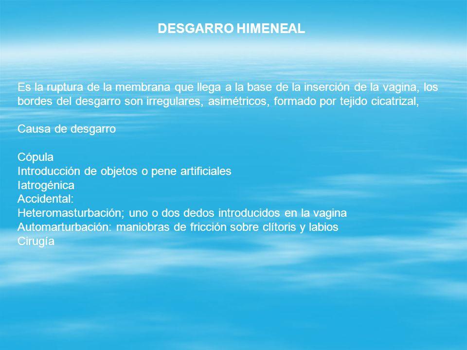 DESGARRO HIMENEAL