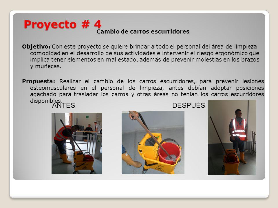 Proyecto # 4 ANTES DESPUÉS