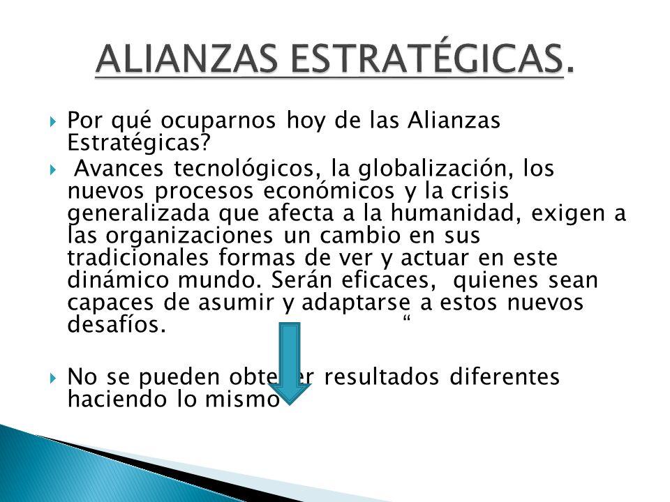 ALIANZAS ESTRATÉGICAS.