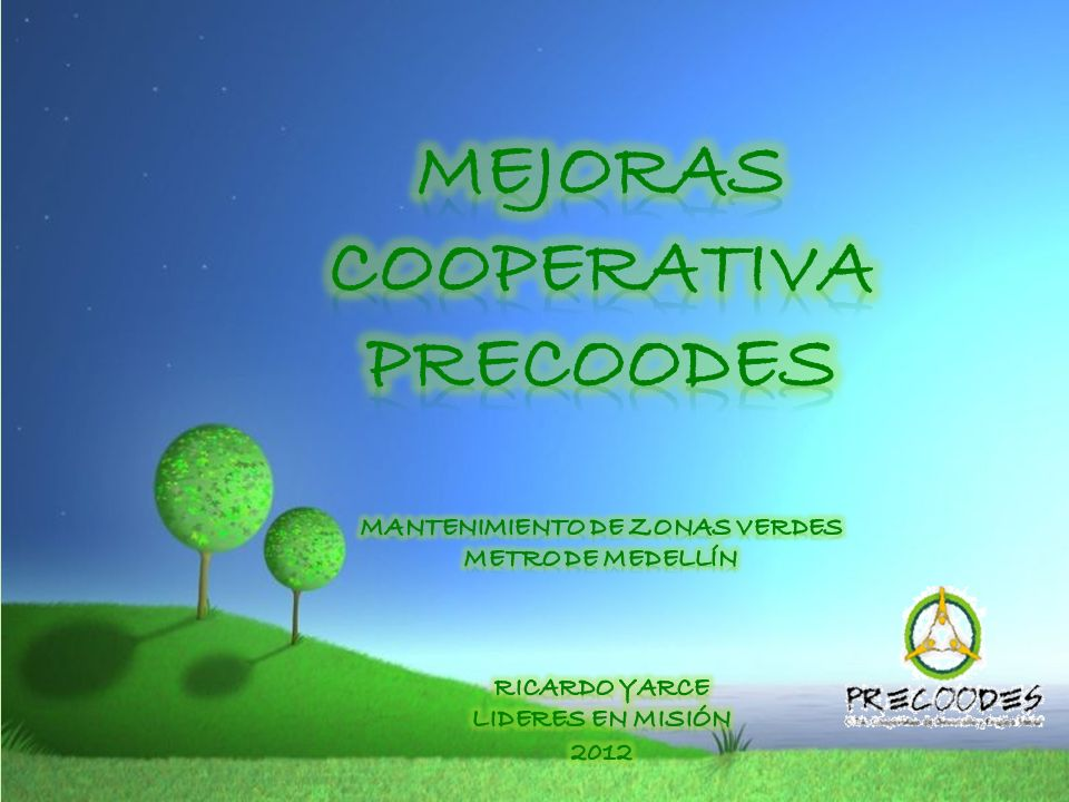 Mejoras cooperativa precoodes