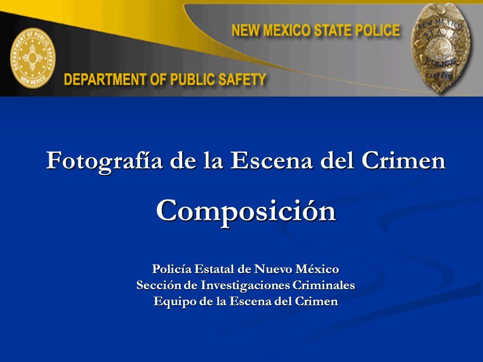 Composición Fotografía de la Escena del Crimen