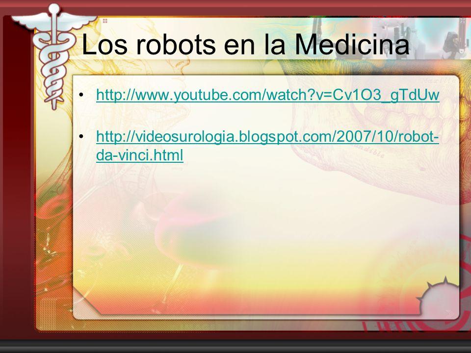 Los robots en la Medicina