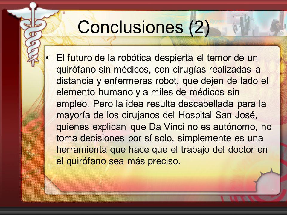 Conclusiones (2)