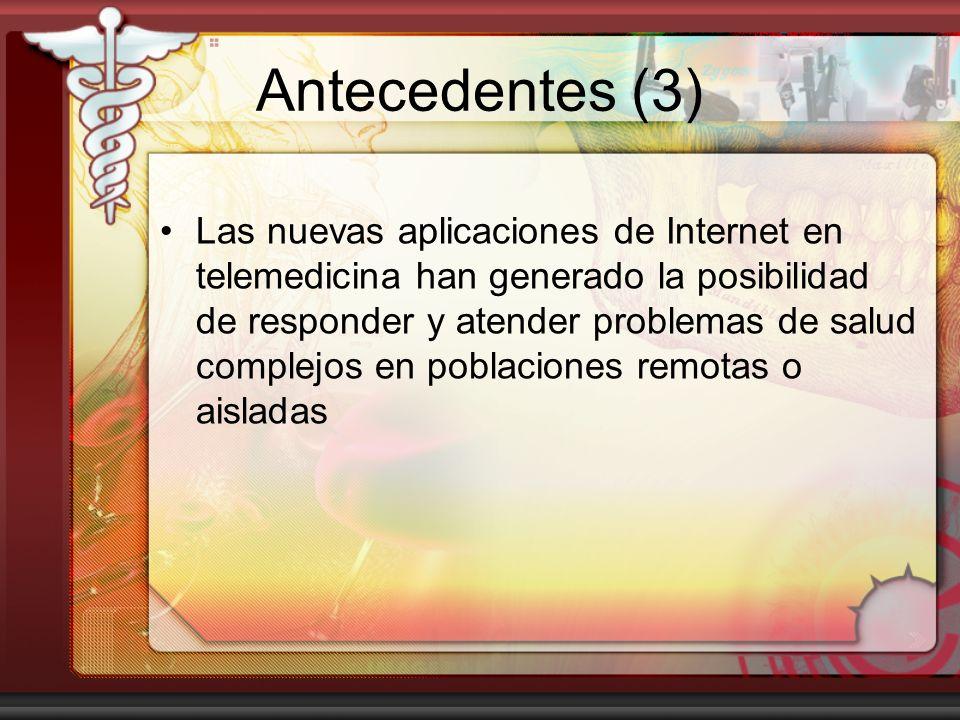 Antecedentes (3)