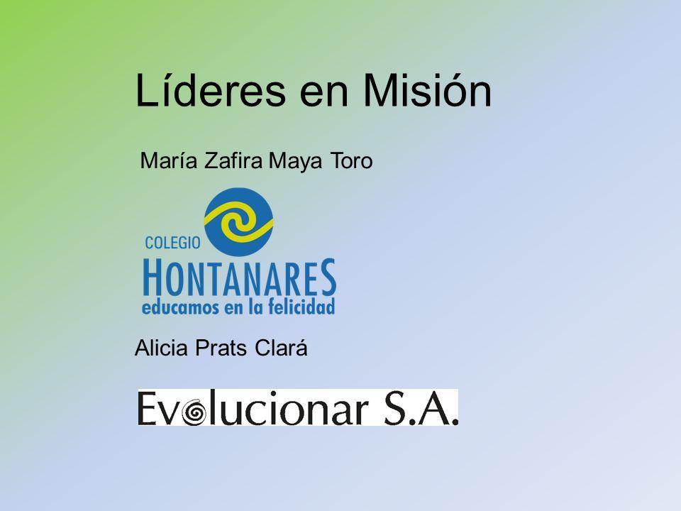 Líderes en Misión María Zafira Maya Toro Alicia Prats Clará