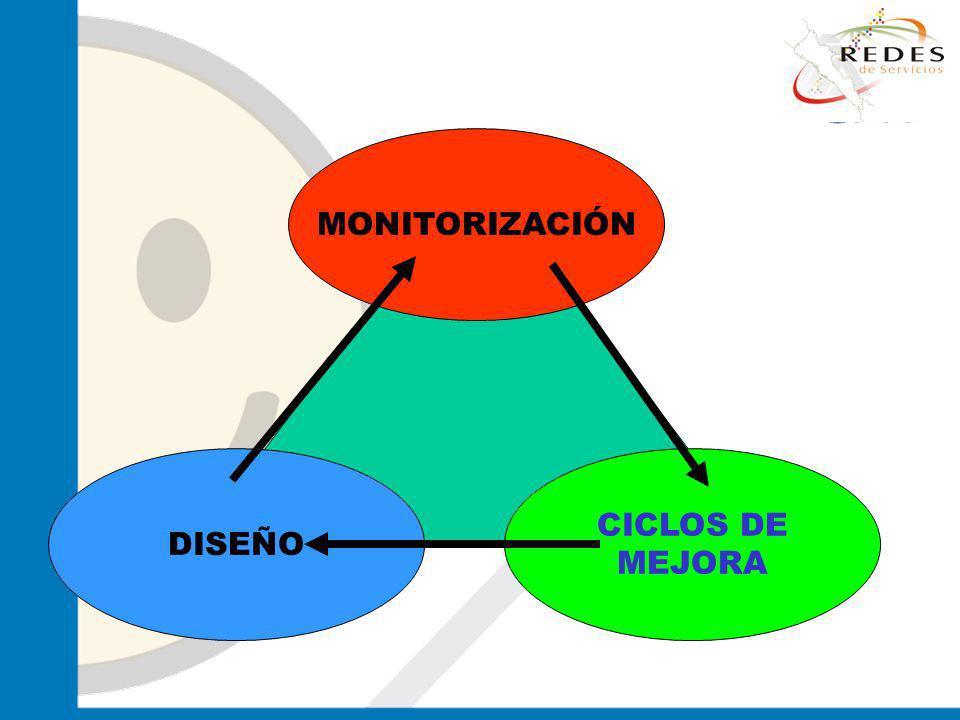 MONITORIZACIÓN DISEÑO CICLOS DE MEJORA