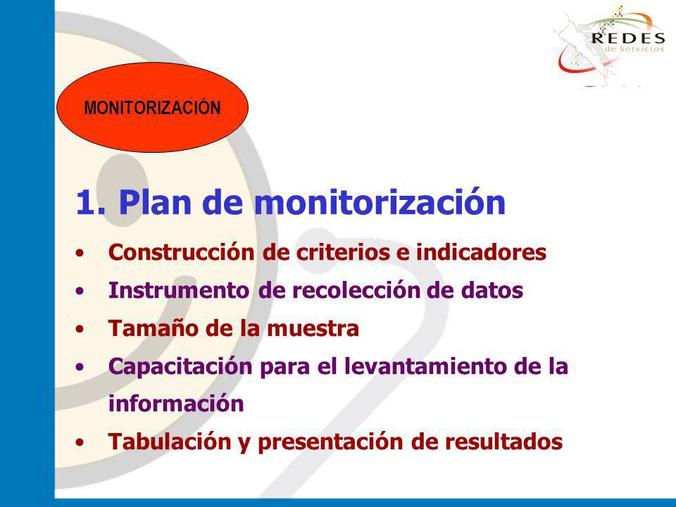 Plan de monitorización