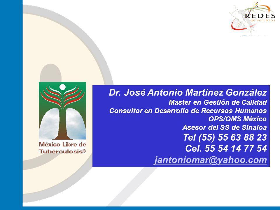 Dr. José Antonio Martínez González