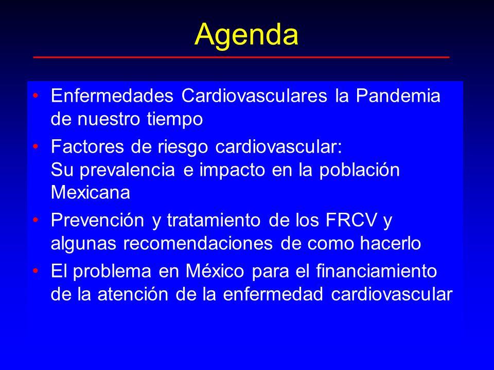 Agenda Enfermedades Cardiovasculares la Pandemia de nuestro tiempo