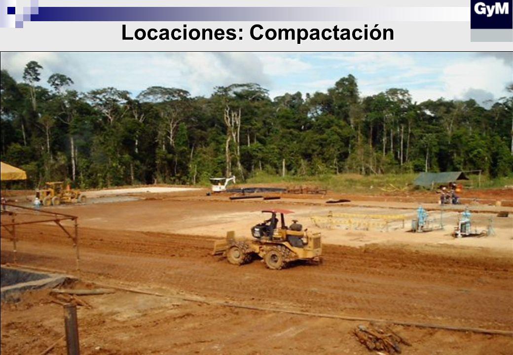 Locaciones: Compactación