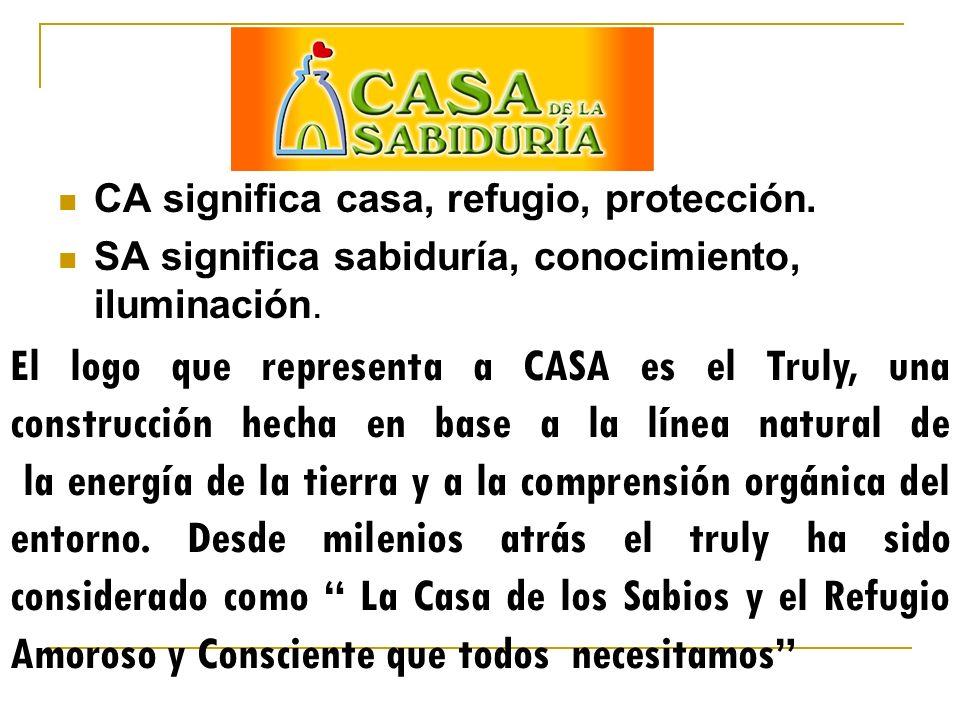 CA significa casa, refugio, protección.
