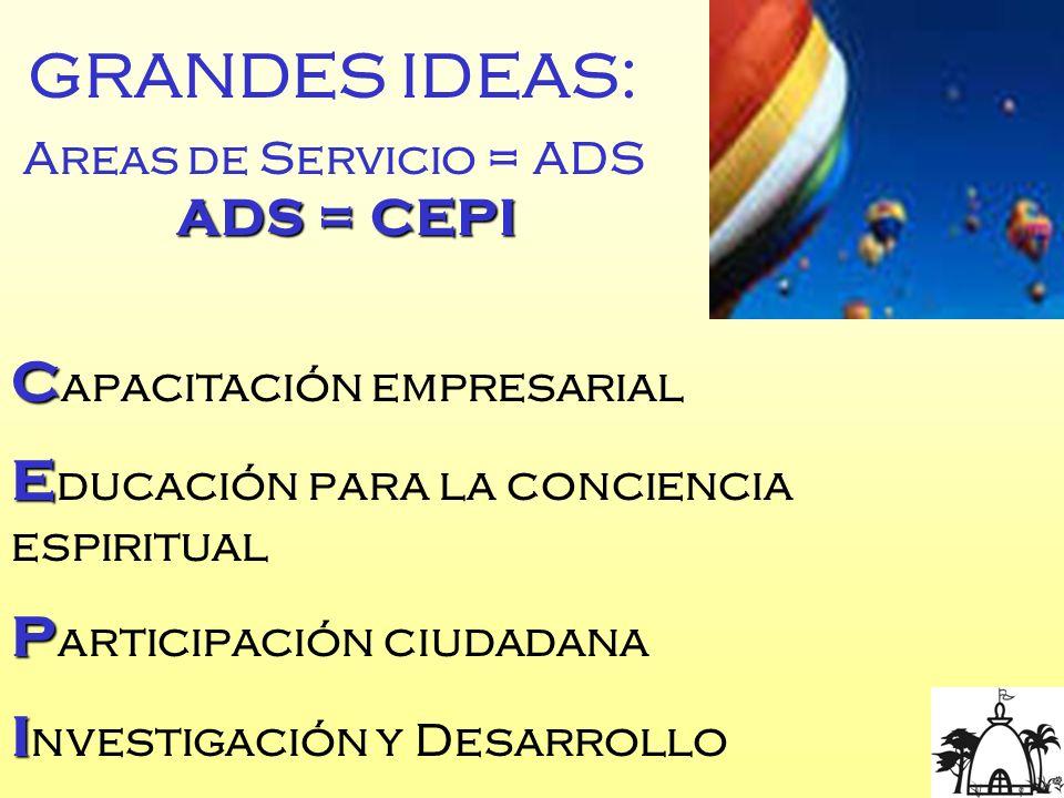 GRANDES IDEAS: Capacitación empresarial