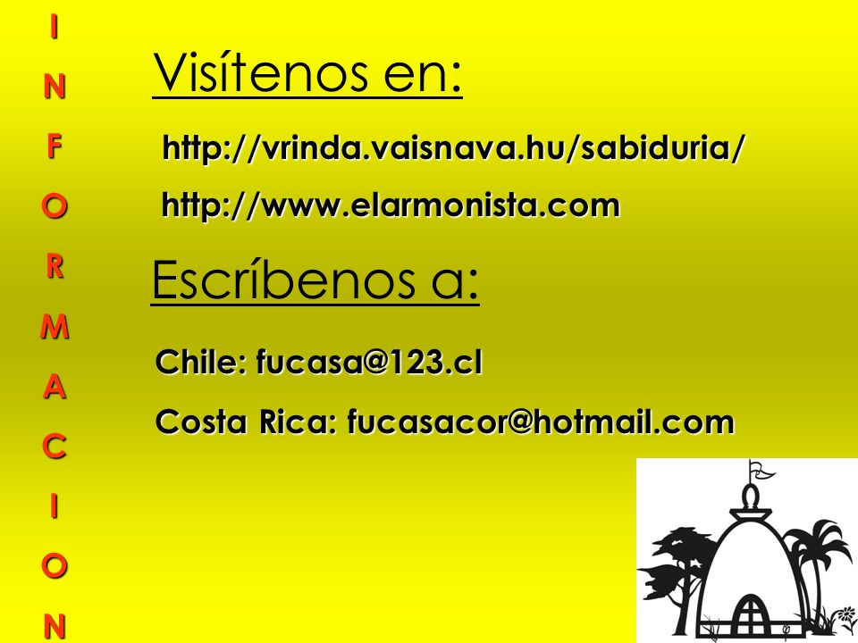 Costa Rica: fucasacor@hotmail.com