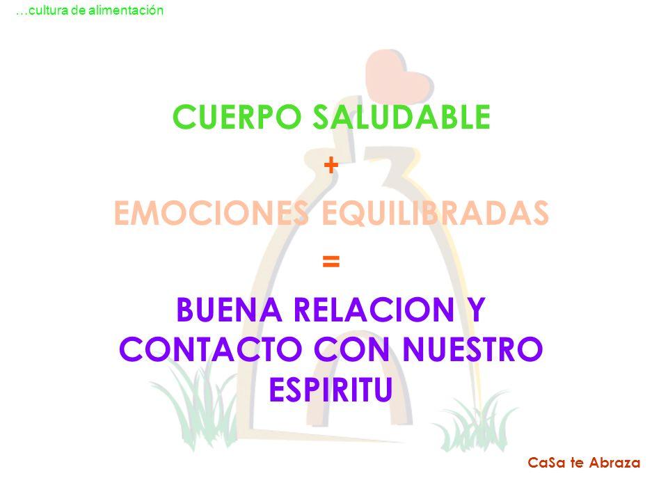 EMOCIONES EQUILIBRADAS