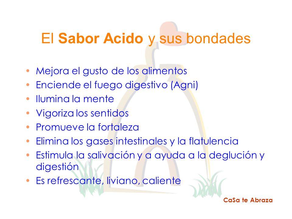 El Sabor Acido y sus bondades