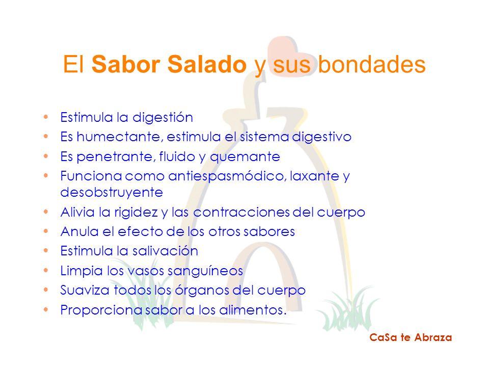El Sabor Salado y sus bondades