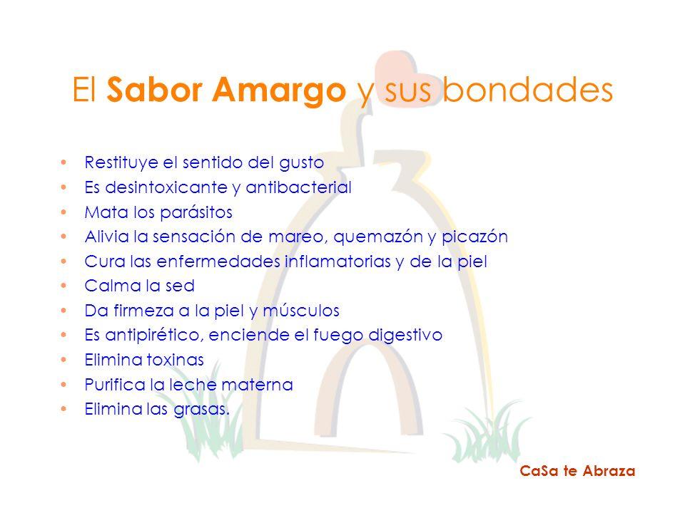 El Sabor Amargo y sus bondades