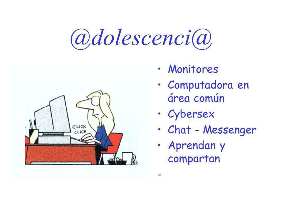 @dolescenci@ Monitores Computadora en área común Cybersex