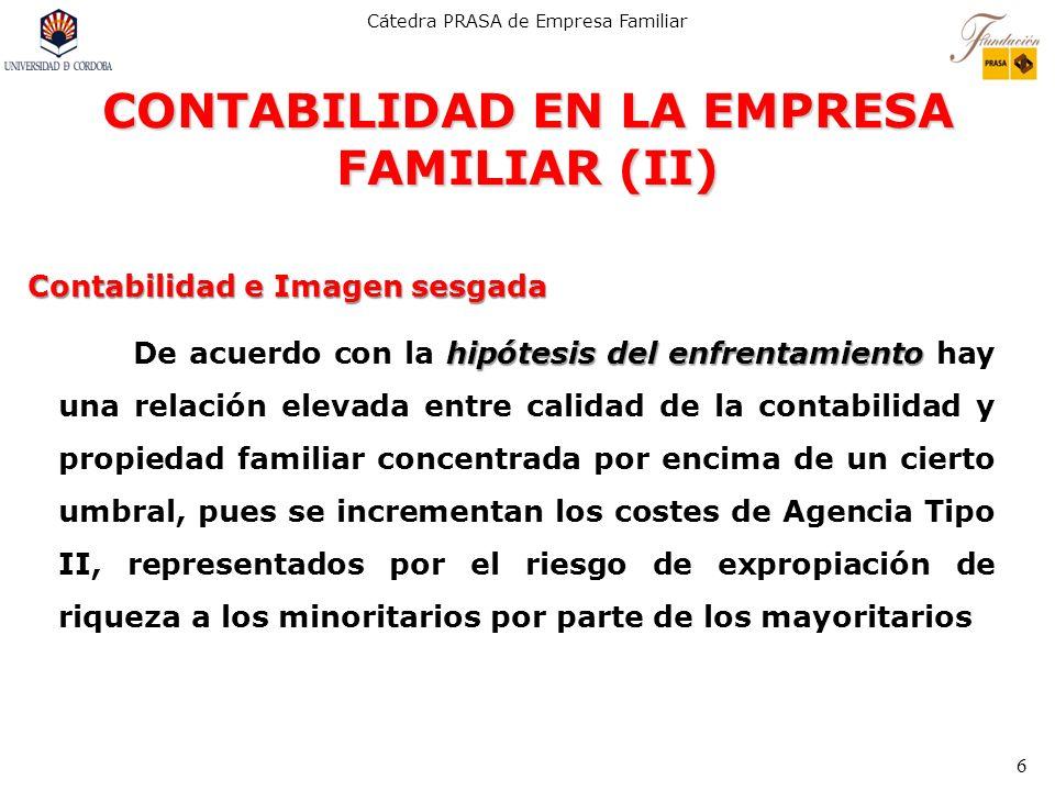 CONTABILIDAD EN LA EMPRESA FAMILIAR (II)