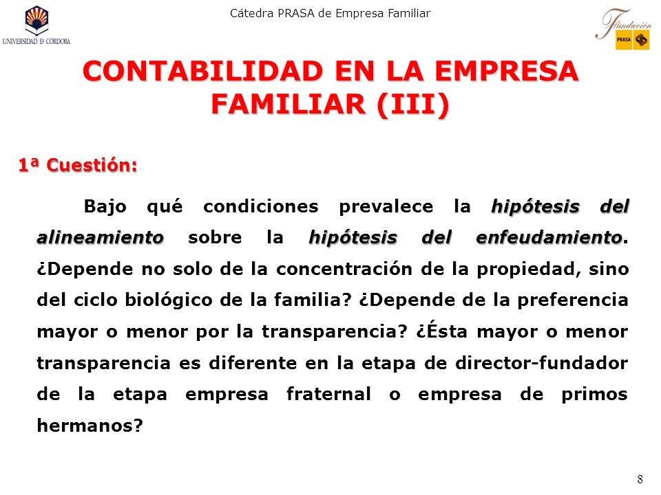 CONTABILIDAD EN LA EMPRESA FAMILIAR (III)